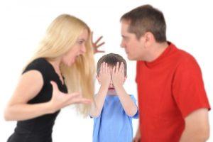 dispute couple a cause des enfants