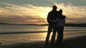 Sortie dans un  cadre romantique